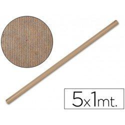 Bobina papel tipo kraft Liderpapel 5 x 1 m marron