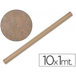 Bobina papel tipo kraft Liderpapel 10 x 1 m marron