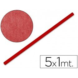 Bobina papel tipo kraft Liderpapel 5 x 1 m rojo