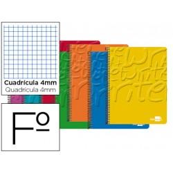 Bloc marca Liderpapel folio Write cuadricula 4 mm