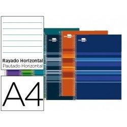 Bloc Din A4 espiral Microperforado serie Classic Liderpapel
