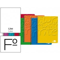 Bloc marca Liderpapel folio Write liso sin margen