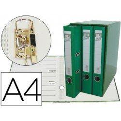 Modulo con 3 archivadores Elba de palanca Verde
