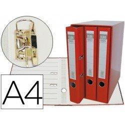 Modulo con 3 archivadores Elba de palanca Rojo