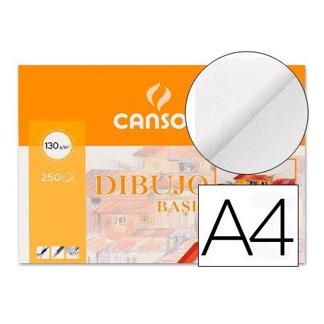 Papel dibujo Canson a4 gramaje 130 g/m2