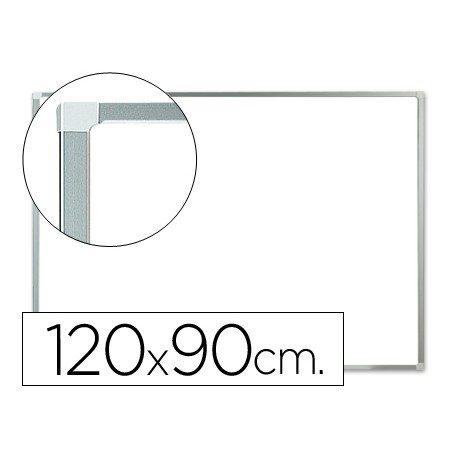 Pizarra Blanca Lacada Magnetica con marco de aluminio 120x90 Q-Connect