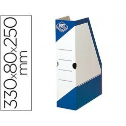 Revistero carton Fast Paperflow color azul