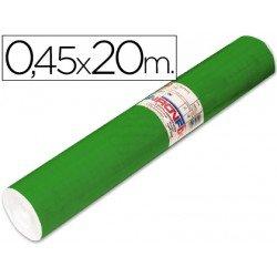 Aironfix Rollo Adhesivo 45cm x 20mt Unicolor Verde Brillo 100 MC