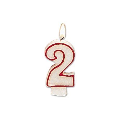 Velas cumpleaños numero 2