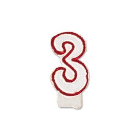 Velas cumpleaños numero 3