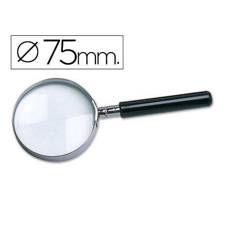 Lupa cristal marca Liderpapel 75 mm
