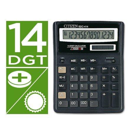 Calculadora Sobremesa Citizen Modelo SDC-414N 14 dígitos