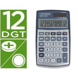 Calculadora Bolsillo Citizen Modelo CPC-112 12 digitos