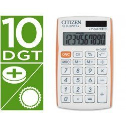 Calculadora Bolsillo Citizen Modelo SLD-322RG 8 digitos