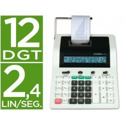 Calculadora Impresora Citizen Modelo CX-121N 12 digitos