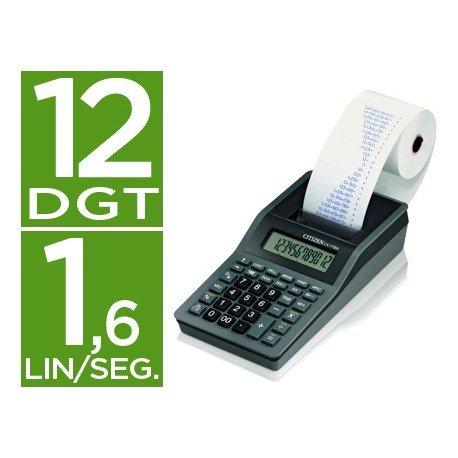 Calculadora Impresora Citizen Modelo CX-77NNA 12 dígitos