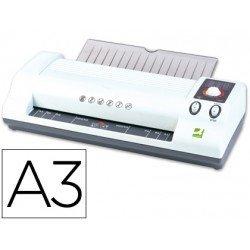 Plastificadora marca Q-Connect de alto rendimiento Din A3