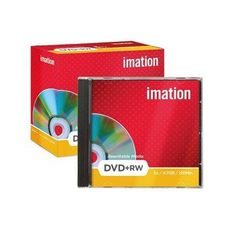 DVD+RW 4,7GB 120min Regrabable Imation