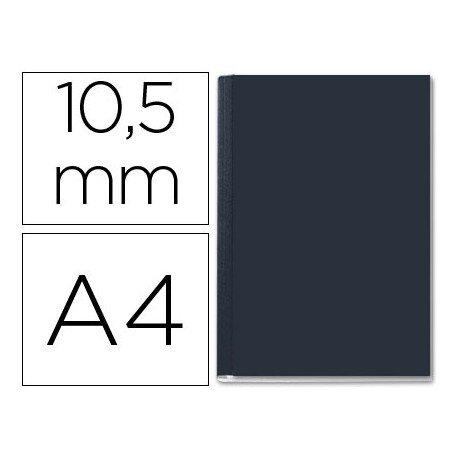 Tapa de Encuadernación Cartón Leitz DIN A4 Negra 71/105 hojas