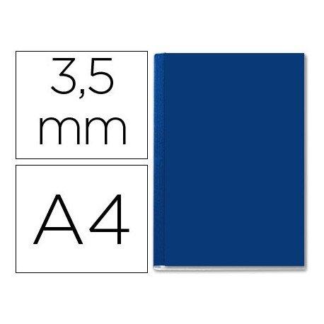 Tapa de Encuadernación Cartón Leitz DIN A4 Azul 10/35 hojas