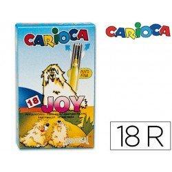 Rotulador Carioca Joy finos lavables caja 18 rotuladores