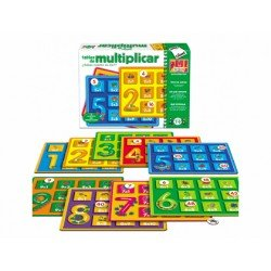 Juego didáctico Tablas de multiplicar Diset