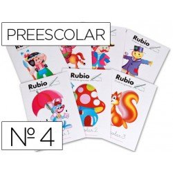 Cuaderno Rubio preescolar Nº4