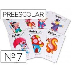 Cuaderno Rubio preescolar Nº7