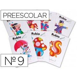 Cuaderno Rubio preescolar Nº9