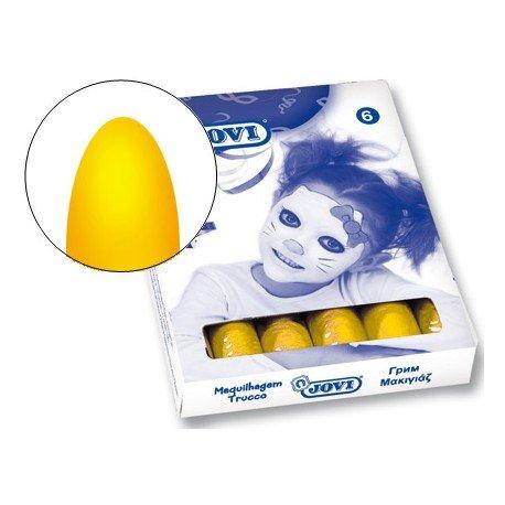 Barra maquillaje Jovi color amarillo
