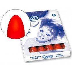 Barra maquillaje Jovi color rojo