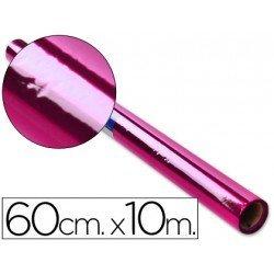 Papel celofan marca Liderpapel 60cmx10m rosa