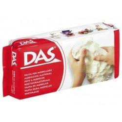 Pasta blanca para modelar Das de 500 gramos (medio Kg)