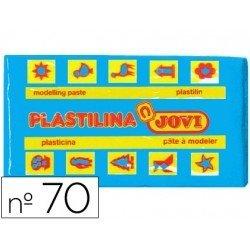 Plastilina Jovi color azul claro pequeña