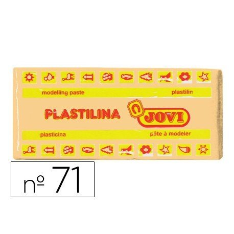 Plastilina Jovi color Carne mediano