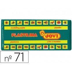 Plastilina Jovi color Verde oscuro mediano