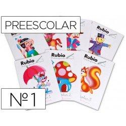 Cuaderno Rubio preescolar Nº1