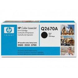 Toner HP 308A Q2670A color Negro