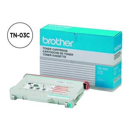 Tóner Brother TN-03C color Cian