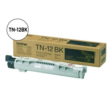 Toner Brother TN-12BK color Negro