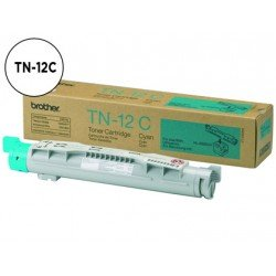 Toner Brother TN-12C color Cian