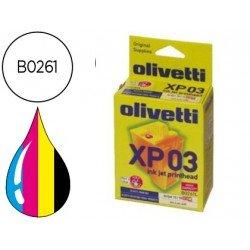 Cartucho Olivetti B0261 Tricolor + Negro