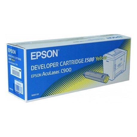 Toner Epson (S050155) amarillo C900 C1900