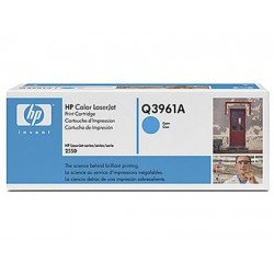 Toner HP 122A Q3961A color Cian