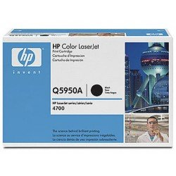 Toner HP 643A Q5950A color Negro