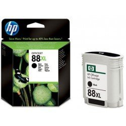 Cartucho HP 88XL color Negro C9396AE