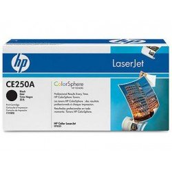 Toner HP 504A CE250A color Negro