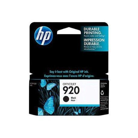 Cartucho HP 920 color Negro CD971AE