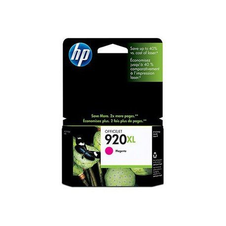 Cartucho HP 920XL color Magenta CD973AE