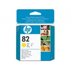 Cartucho HP 82 color Amarillo CH568A